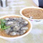 朝7時から営業している寧夏夜市の近くにある旨い麺線!阿川蚵仔麺線