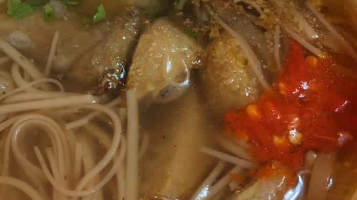【台北】素食だけど侮れないエリンギの入った麺線!素面線 素咸粥