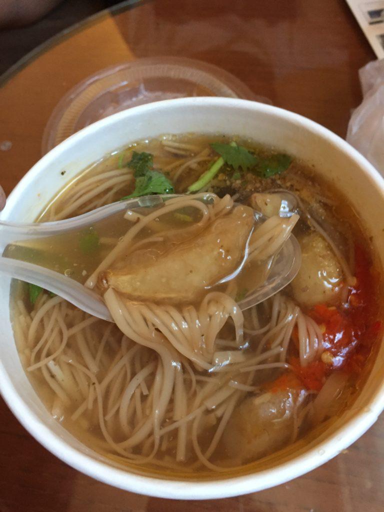 【行天宮】素食麺線