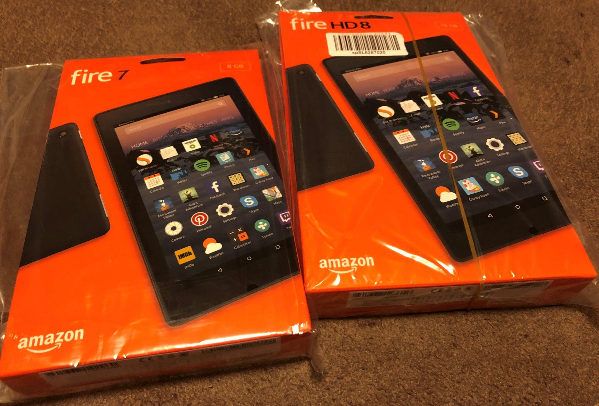 Amazon fireタブレット
