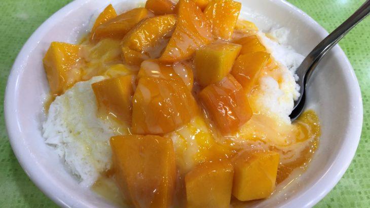 夏の台湾といえばマンゴーかき氷!マンゴーかき氷といえば冰讃!「海賊版」