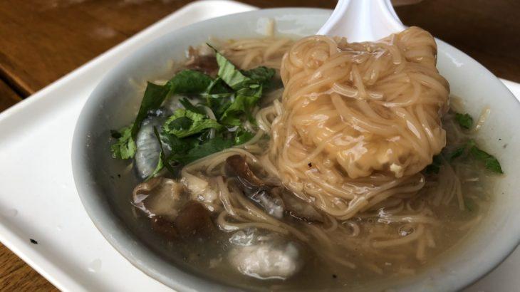 【台北】龍山寺にほど近い、朝から営業している麺線!陳記專業蚵仔麵線