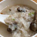【台北】MRT中正記念堂駅近くの美味しいお粥屋さんで朝食を!三娘香菇肉粥
