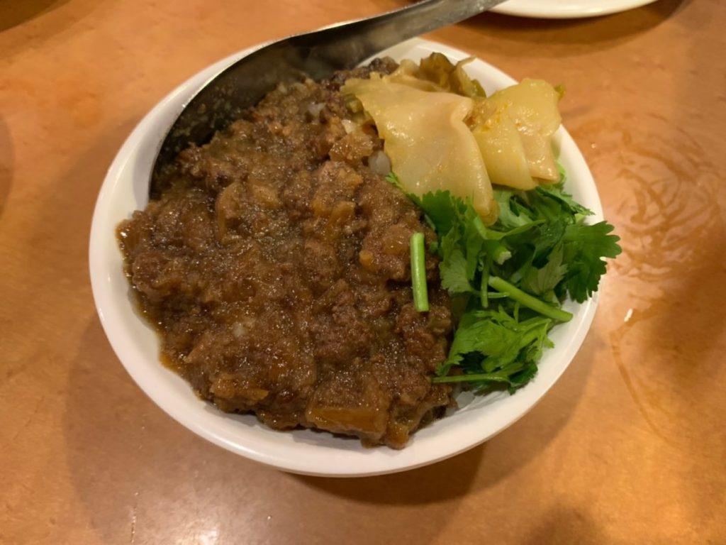 台南担仔麺(台南ターミー)