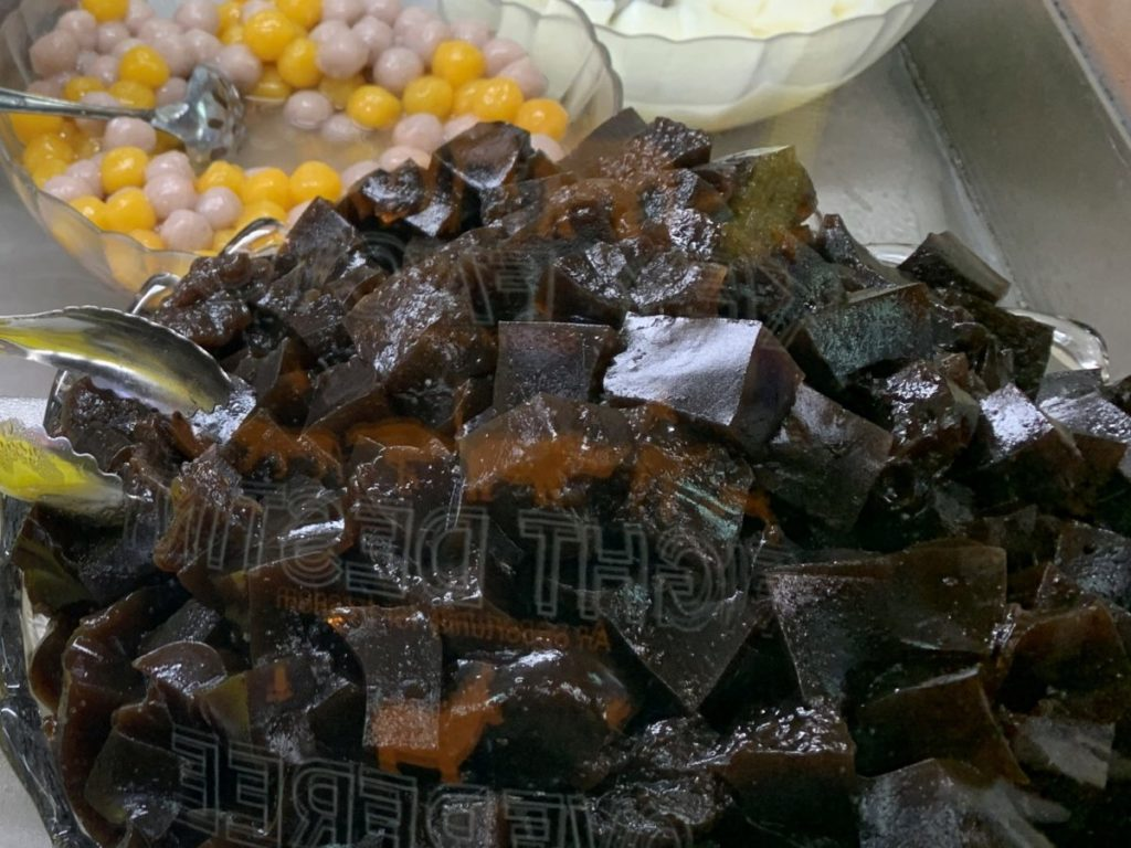 陳Q古早味黒砂糖剉氷@台北通化夜市店