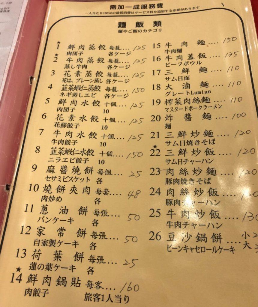 台北おすすめ蒸し餃子ベスト5